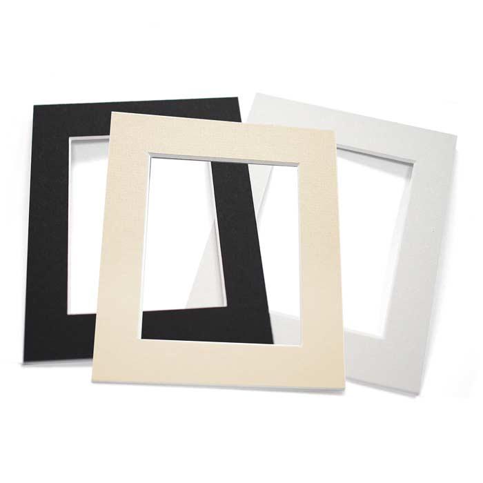 hochwertige passepartouts von nielsen design in drei farben und vielen g ngigen gr en. Black Bedroom Furniture Sets. Home Design Ideas