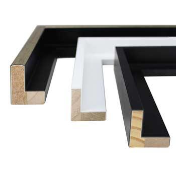 alu schattenfugenrahmen zweifarbig digiposter schweiz. Black Bedroom Furniture Sets. Home Design Ideas